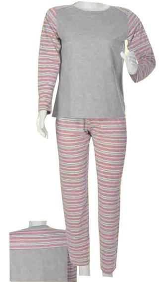 Pijama Feminino Inverno Formosa 42 A 48 Não Pega Bolinha