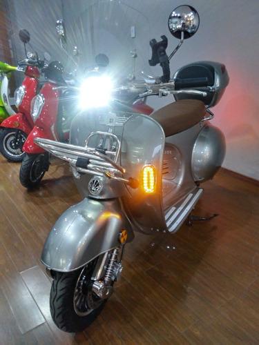 Moto Sunra Vespa New Vintage Electrica Litio Especial 2021 A