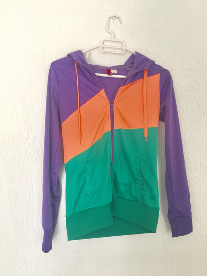Sudadera Hoodie Divided By H Y M Forever 21 Con Capucha Mujer. Impecable!