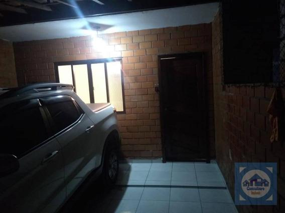 Casa Com 2 Dormitórios À Venda, 69 M² Por R$ 140.000,00 - Vila Voturua - São Vicente/sp - Ca1098