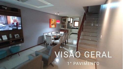 Sobrado Em Guarujá Com 2 Dormitórios - Lu431755