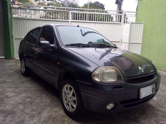 Clio Sedan 2002 Completo 1.0
