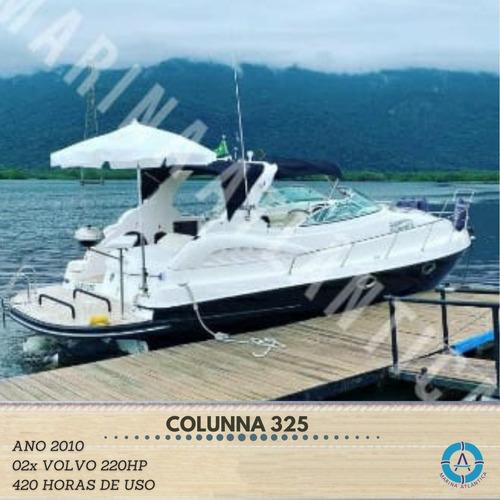 Colunna 325 Ano 2010. 02volvo 220hp 420hr-marina Atlântica