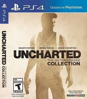 Juego Playstation 4 Uncharted Collection Ps4