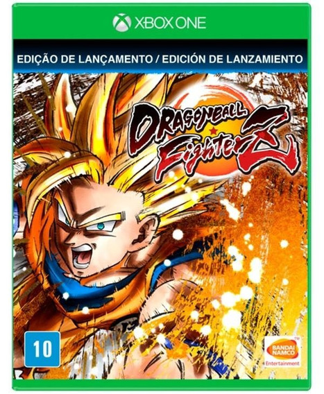 Dragon Ball Fighterz Dlc Xbox One Novo Mídia Física + Pôster