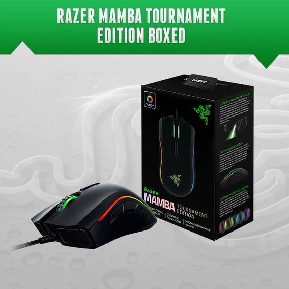 Mouse Razer Mamba Tournament Edi. Sensor 5g De 16.000dpi
