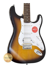 Guitarra Fender Squier Bullet Ponte Fixa Hss Sb Regulada!