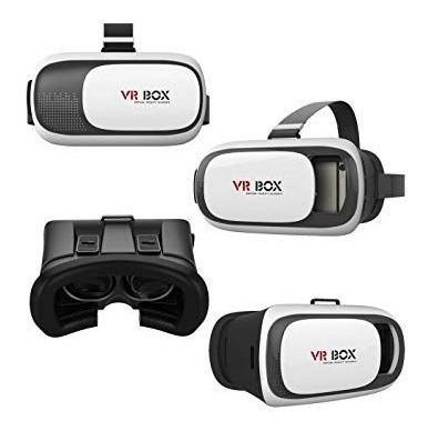 1 Óculos Vr Box Smartphone Realidade Virtual 3d + Controle