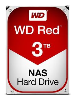 Disco Duro Wd Red 3.5 3tb Sata3 6gb 24x7 Hotplug Nas