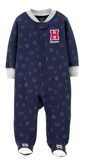 Macacao Pijama Carters Bebe Menino Rn A 9 Meses Original