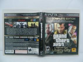 Gta 4 Liberty City Playstation 3 Ps3 Mídia Física - Completa