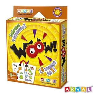 Juego De Cartas Woow Arval 5 Juegos En 1