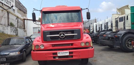 Mercedes-benz 1620 Ano 2008 6x2 Carroceria