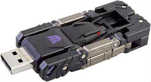 Memoria  Lreary Usb 64 Gb Modelo Transformers Gris