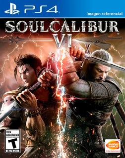 Soul Calibur 6 Vi / Juego Físico / Ps4