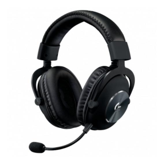 Headset Gamer Logitech G Pro X 7.1 Surround Usb Preto