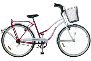 Bicicleta De Paseo Dama Rodado 26 Guardabarros Siambretta