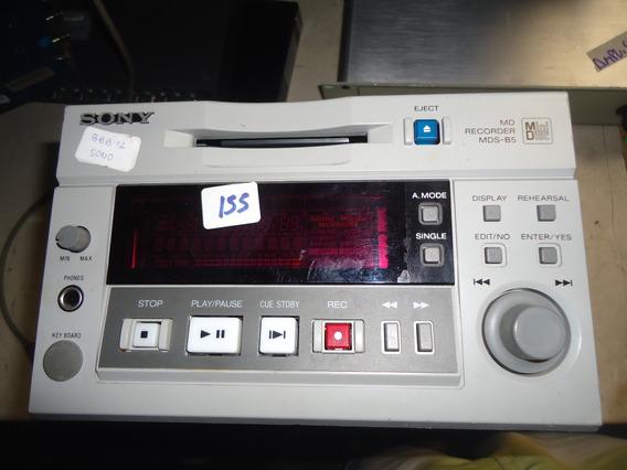 Sony Modelo Mds-b5 Profissional Minidisc Gravador