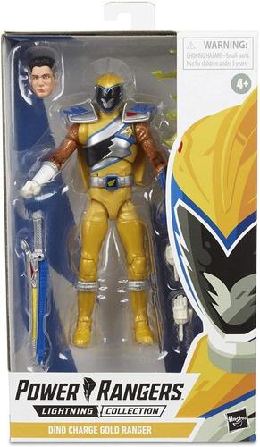 Power Rangers Lightning Dino Charge Gold Ranger