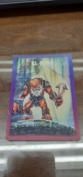 Tarjeta Monstruo Del Bolsillo Sonrics El Ogro