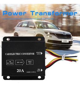 Inversor De Voltagem 24v P/ 12v 20a Dc 240 Watts Novo