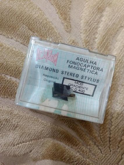 Agulha Fonocaptora Magnética Mod Gradiente Ic-d400