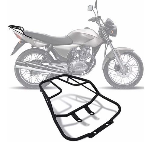 Imagem 1 de 5 de Bagageiro Para Moto Honda Titan E Fan 2009 A 2013 Sansão