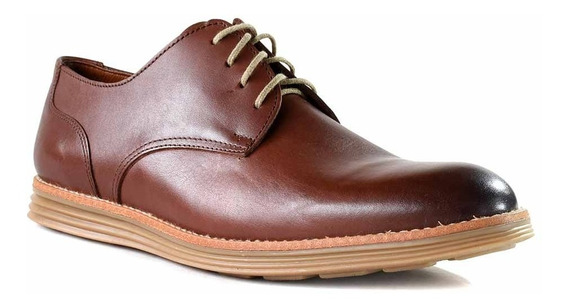 Zapato Cuero Hombre Briganti Goma Confort Moda - Hcac00816