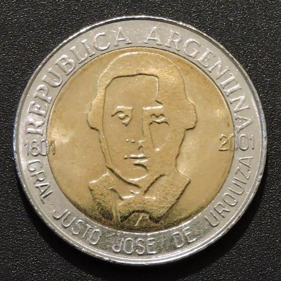 1 Peso Justo José De Urquiza