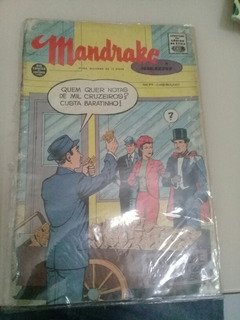 Hq Mandrake Magazine N° 74 Rio Gráfica 1963