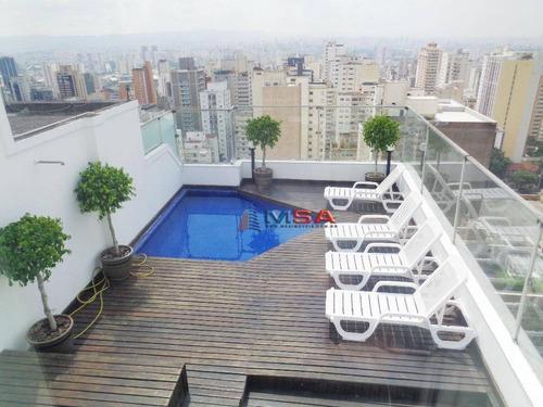 Cobertura Residencial À Venda, Perdizes, São Paulo - Co0146. - Co0146