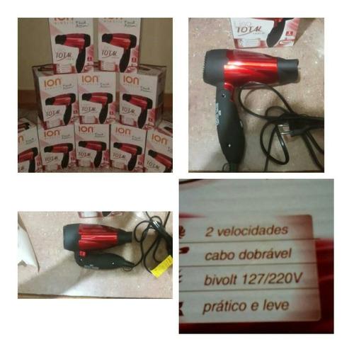 Secadosr De Cabello Tipo Viajero 1400 W Ion