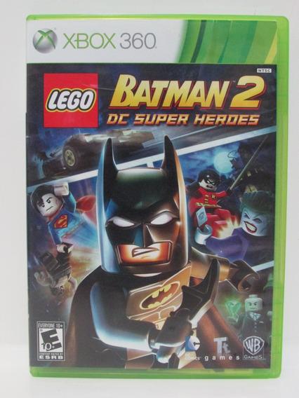Lego Batman 2 Dc Super Heroes - Xbox 360 Original Completo