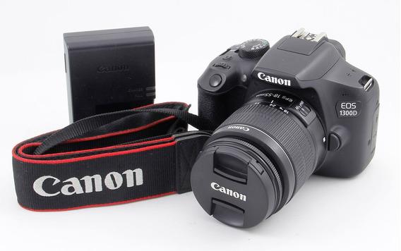 Canon 1300d Con Lente 18-55 Is T6