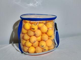 Bolsa 100 Pelota Tenis De Mesa Naranja