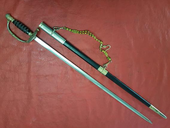Sable Antigua Espada Oficial Jefe De Policia Con Sus Tiros