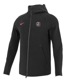 Campera Nike Psg Tech Fleece Hoodie Paris Saint Germain Blac