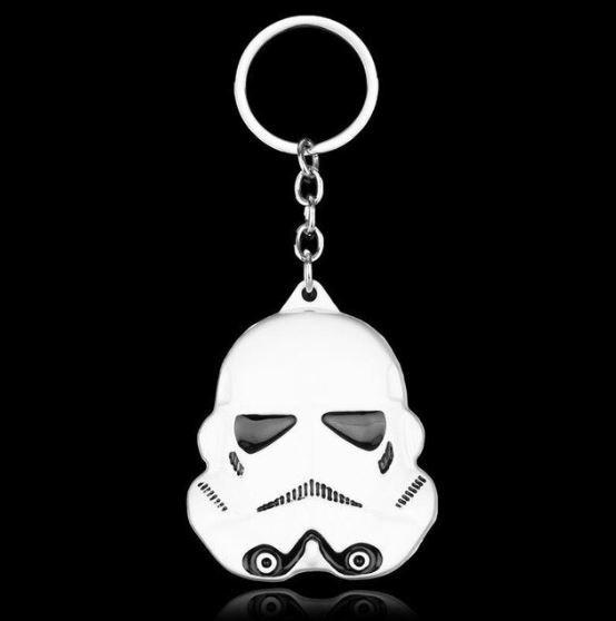 Chaveiro Star Wars Stormtrooper Tropa Darth Vader De Metal
