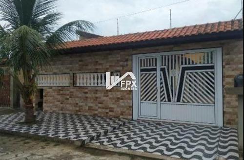 Casa Em Itanhaém, Lado Praia Á 200 Metros Do Mar Ca297