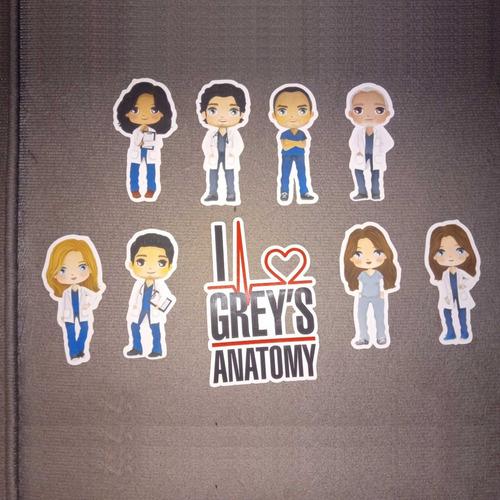Imagem 1 de 4 de 100 Tags, Topper, Apliques Para Festas - Grey's Anatomy