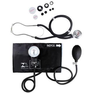 Esfigmomanômetro E Estetoscópio Rappaport Premium - Preto