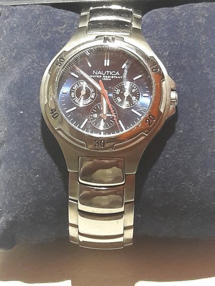 Relógio Nautica - Aço Inoxidável - 100m Water Resistant