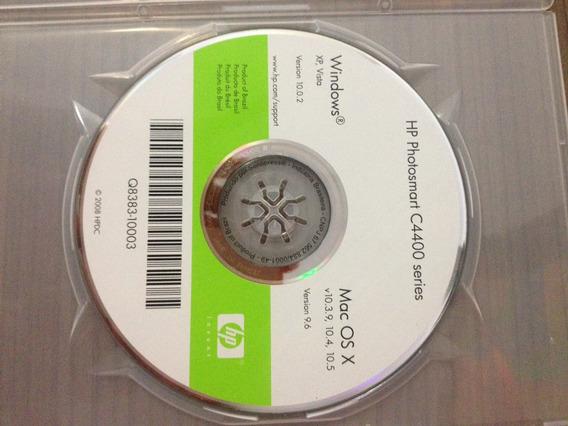 Cd De Instalação Impressora Hp Photosmart / C4400