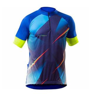 Camisa Ciclista Hassio Poker Com Ziper Unissex