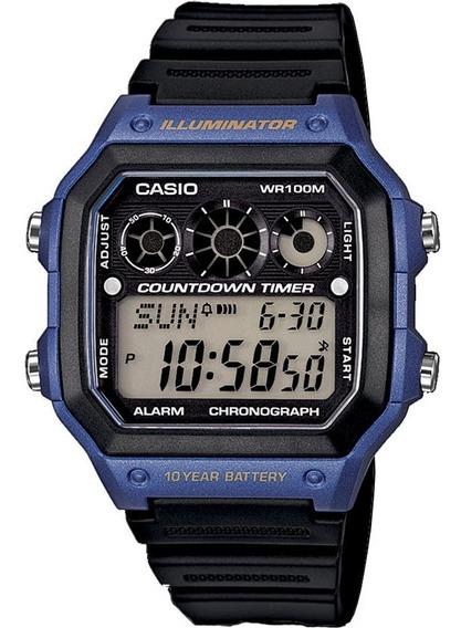 Relógio Casio Digital Esportivo Ae-1300wh-2avdf