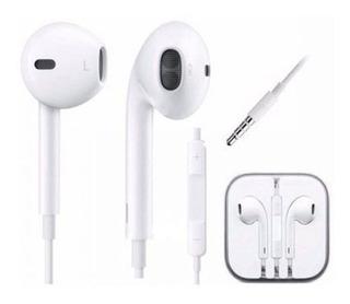 Fone Ouvido Apple iPhone 5 Microfone Volume iPad Samsung Lg