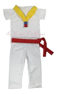 Traje Tipico Para Niño. La Costura De Raymi. Varios Paises.