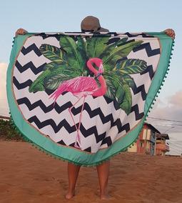 Canga Redonda, Saída De Praia, Verão 2019, Flamingo, Moda