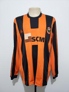 Camisa Futebol Shakhtar Donetsk Ucrânia 2007 Home adidas Gg