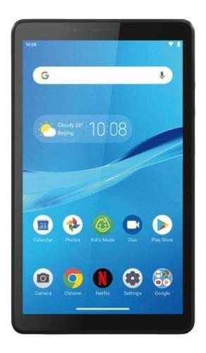 """Imagen 1 de 3 de Tablet  Lenovo Tab M7 2nd Gen TB-7305F 7"""" 16GB onyx black con 1GB de memoria RAM"""